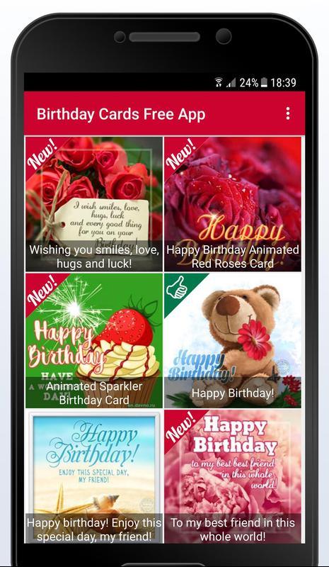 Birthday Cards Free App 4