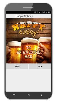 Happy Birthday Cards App ảnh chụp màn hình 4