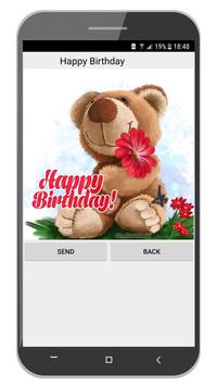 Happy Birthday Cards App ảnh chụp màn hình 5