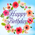 Happy Birthday Cards & GIF