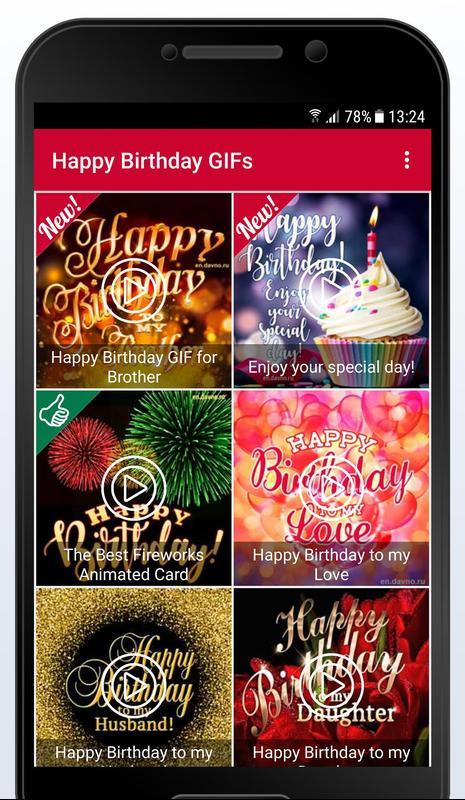 Happy Birthday GIFs Screenshot 4