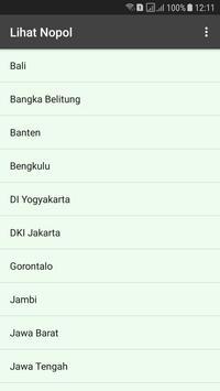 Nopol se Indonesia screenshot 1