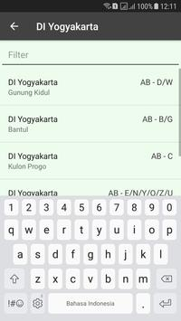 Nopol se Indonesia screenshot 2