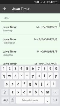 Nopol se Indonesia screenshot 3