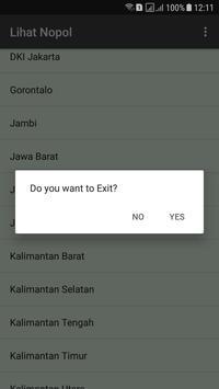 Nopol se Indonesia screenshot 4