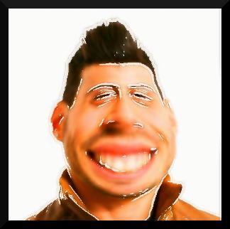 Caricatures Warp Face Cartoon poster