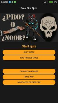 Free Fire Quiz poster