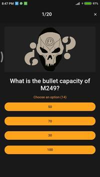 Free Fire Quiz screenshot 1