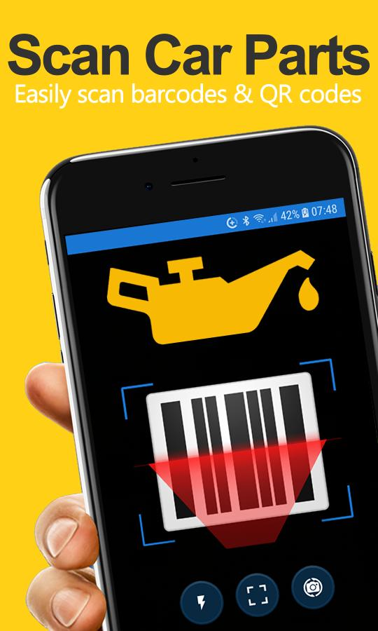 Auto Parts Scanner - Car Parts Barcode Reader for Android