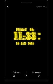 3D Digital Clock screenshot 7