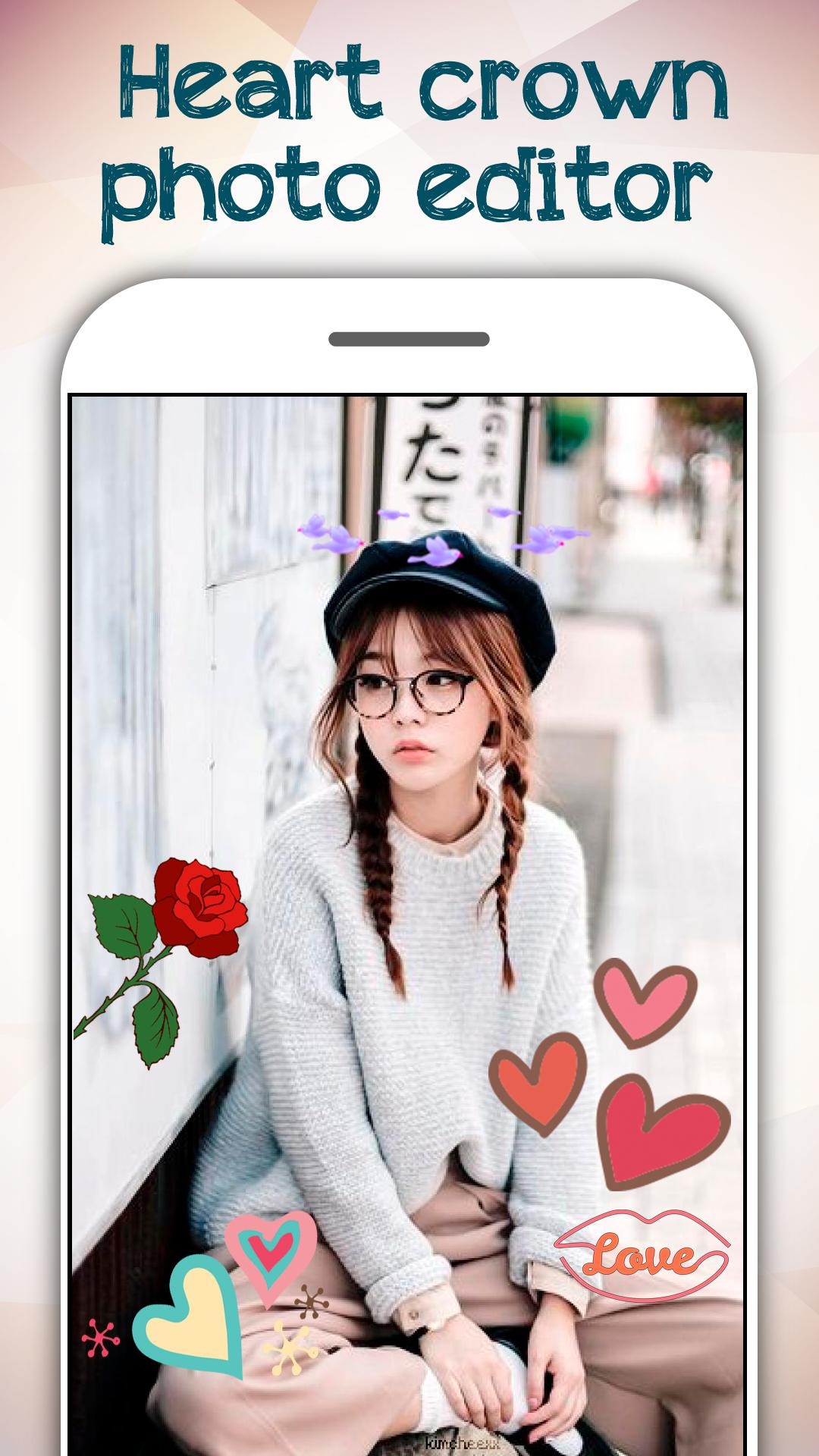 Heart Crown Photo Editor 2019 for Android - APK Download