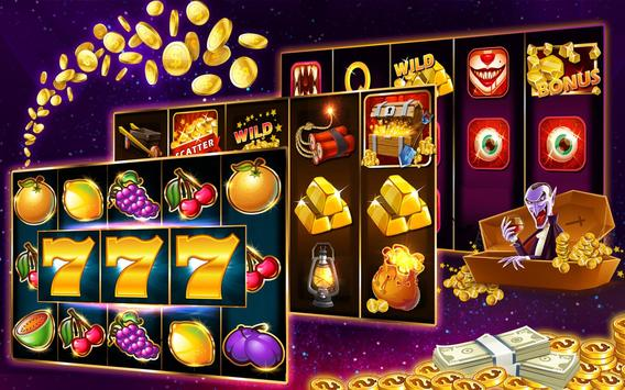 Slot machines - free casino slots games poster