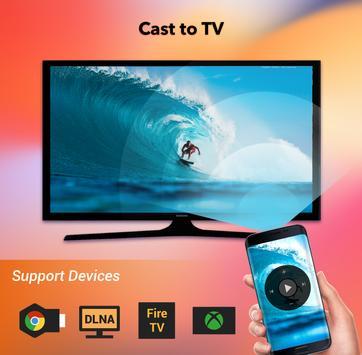 Cast to TV - Chromecast, Roku, cast videos to tv poster