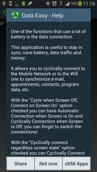 Data Switch Save Battery Easy screenshot 3