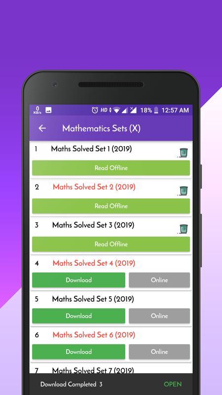 Class 10 maths sample paper 2019 solved
