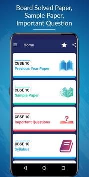 Class 10 CBSE Board Solved Papers & Sample Papers poster