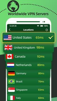 Cool VPN Free - Super Smart VPN, Fast VPN Proxy capture d'écran 1