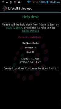 Lifecell Sales App screenshot 3