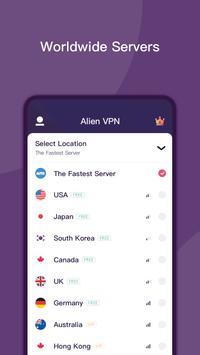 Alien VPN screenshot 1