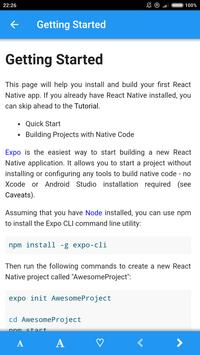 React Native 0.57 screenshot 1