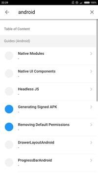 React Native 0.57 screenshot 5