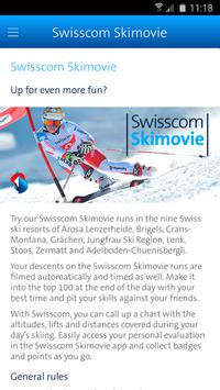 Swisscom Skimovie screenshot 1