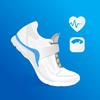 Podomètre gratuit - compteur de pas et de calories icône
