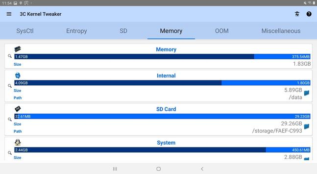 3C System Manager screenshot 4
