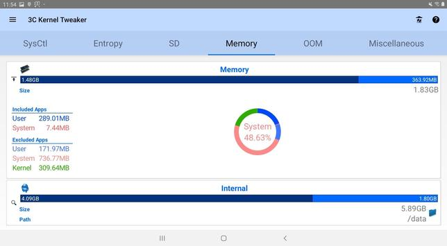 3C System Manager screenshot 8