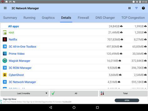 3C Network Manager screenshot 15