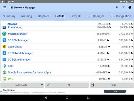 3C Network Manager screenshot 8