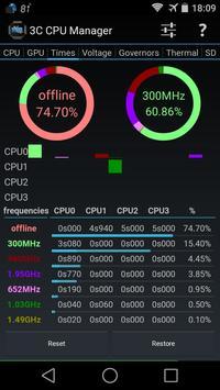 3C CPU Manager imagem de tela 1