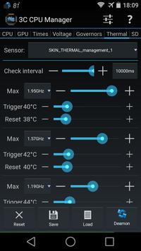 3C CPU Manager imagem de tela 3