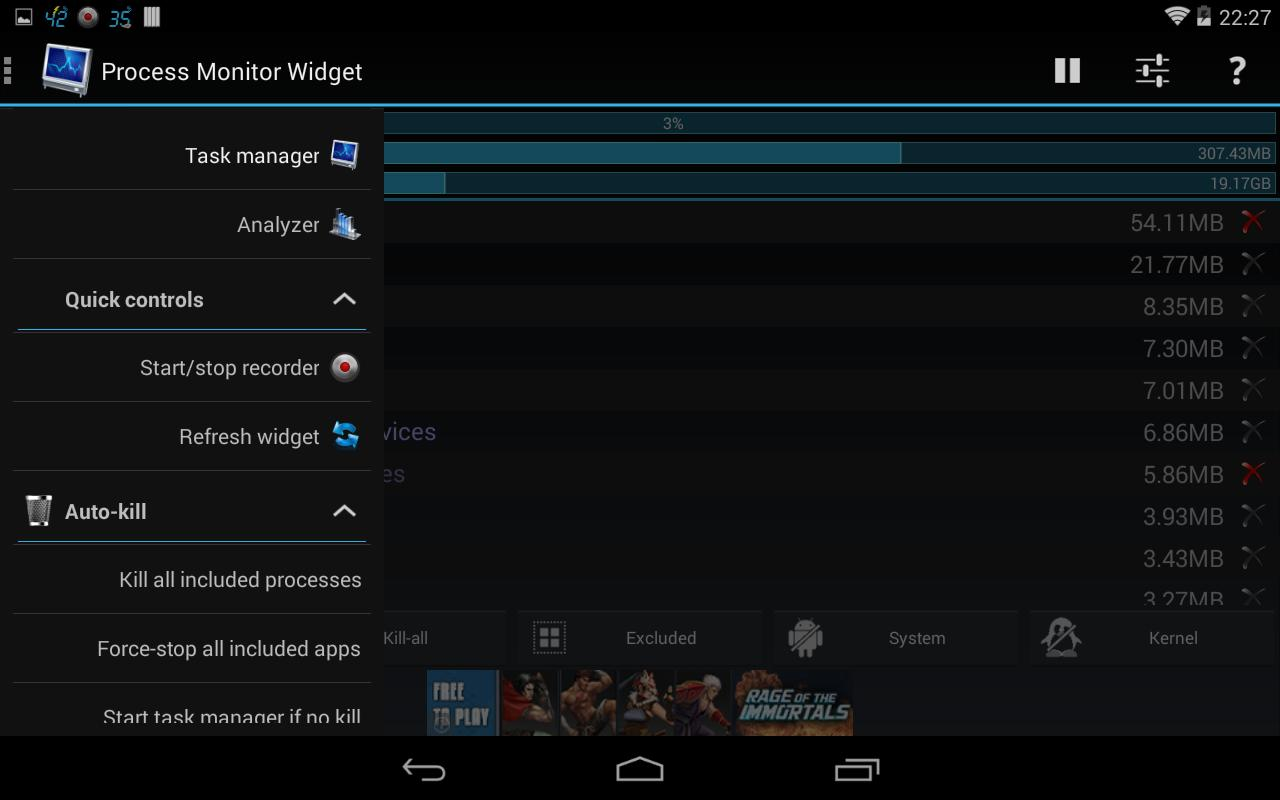 3C Process Monitor for Android - APK Download