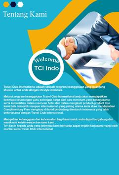 TCI Indonesia (Travel Club Internasional) screenshot 1