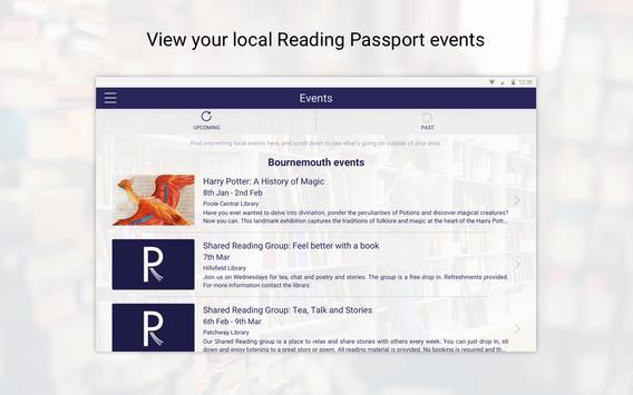 Reading Passport screenshot 7