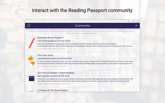 Reading Passport screenshot 13