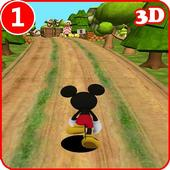 Mickey subway Mouse Rush icon