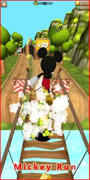 Mickey subway Mouse Rush screenshot 11