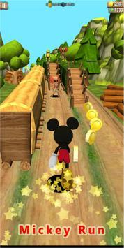 Mickey subway Mouse Rush screenshot 1