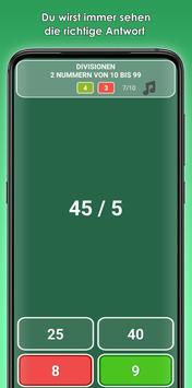 Addition, Subtraktion, Multiplikation, Division Screenshot 4