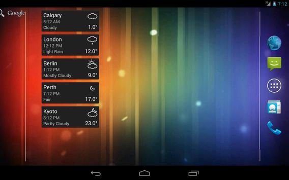 World Clock & Weather screenshot 10