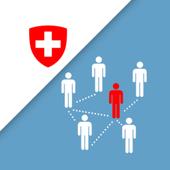 SwissCovid أيقونة