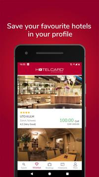Hotelcard screenshot 2