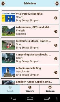 Simplon alpmove Reiseführer screenshot 1