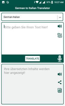 German to Italian Translator screenshot 3