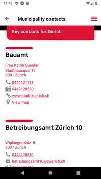 Localcities. Swiss municipalities screenshot 4