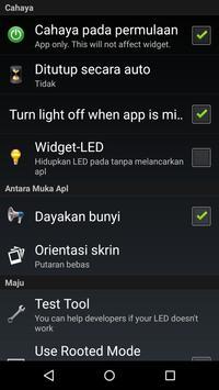 Lampu suluh LED - Flashlight syot layar 3