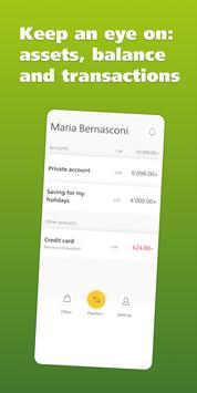 PostFinance screenshot 2