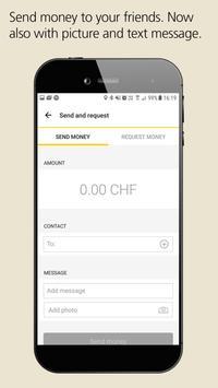 PostFinance TWINT screenshot 1